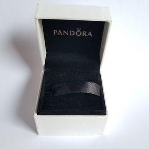 Pandora Jewelry - Pandora Divine Angel Charm 14k Gold Halo Box